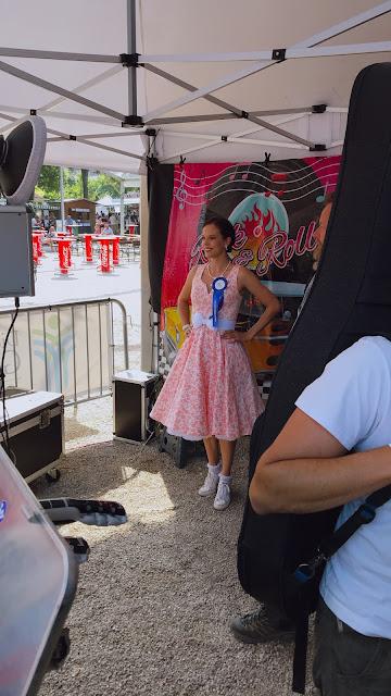 Maria Gamauf meldet sich zur Wahl für die Misspetticaot 2021 bei Rock'n'Roll im Kurpark XII an