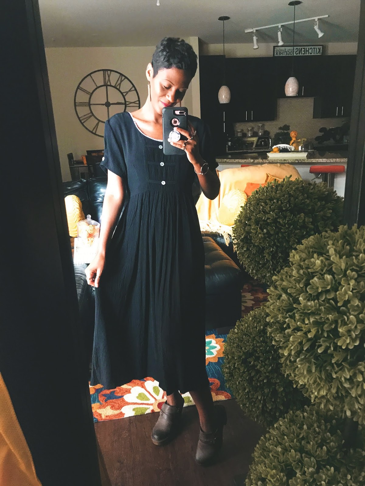 All Black Feels VERY Befitting For The Occasion
