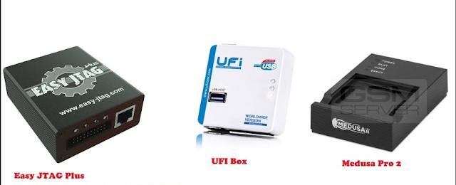 Easy Jtag Box,Ufi box,Medusa box,Emate box