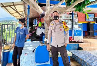 Patroli Ke Tempat Wisata, Anggota Polsek Alla Pantau Penerapan Protokol Kesehatan