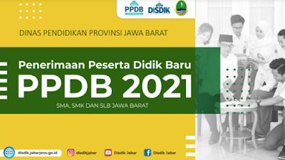 Petunjuk Teknis PPDB  Provinsi Jawa Barat Tahun Pelajaran 2021-2022