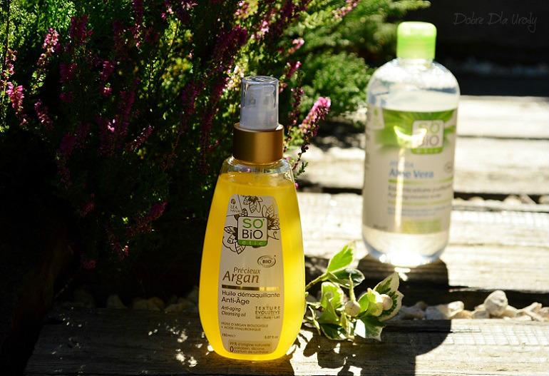 SO BIO Przeciwzmarszczkowy olejek arganowy do mycia i demakijażu