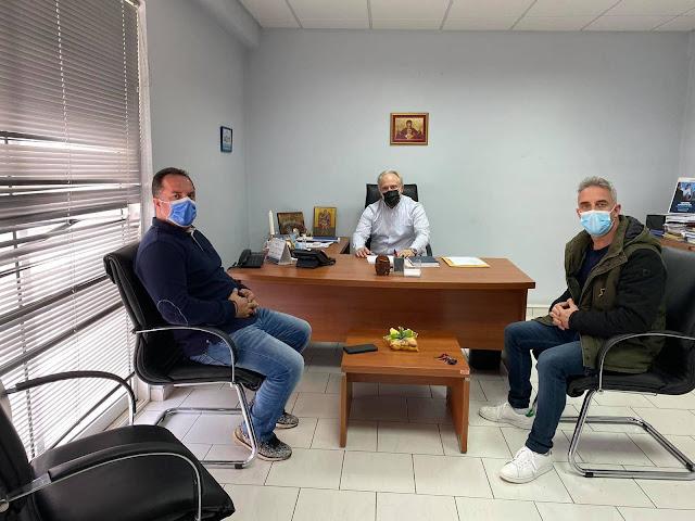 Συνάντηση Οψιμούλη Δαμιανού με Ανδριανό για το ΕΚΑΒ Αργολίδας