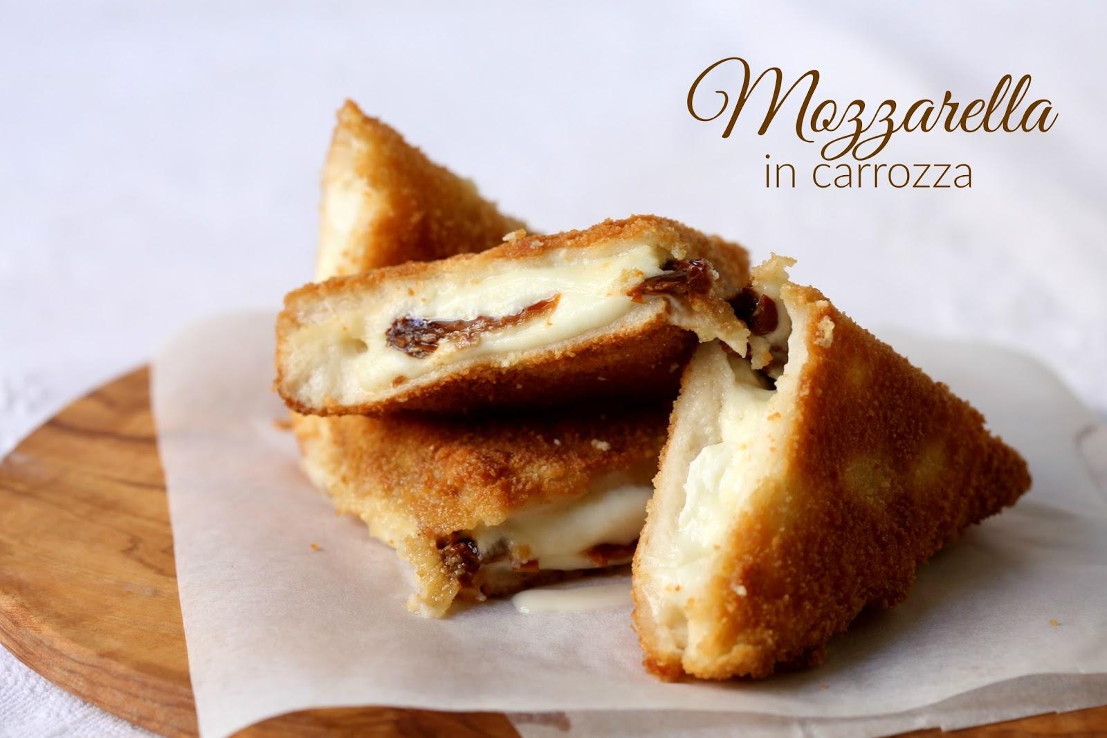 Resteverwertung auf Neapolitanisch: Mozzarella in carrozza
