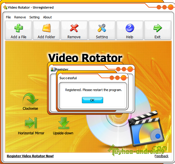 Video Rotator Full