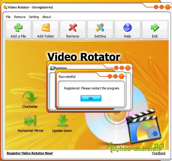 Video Rotator Full