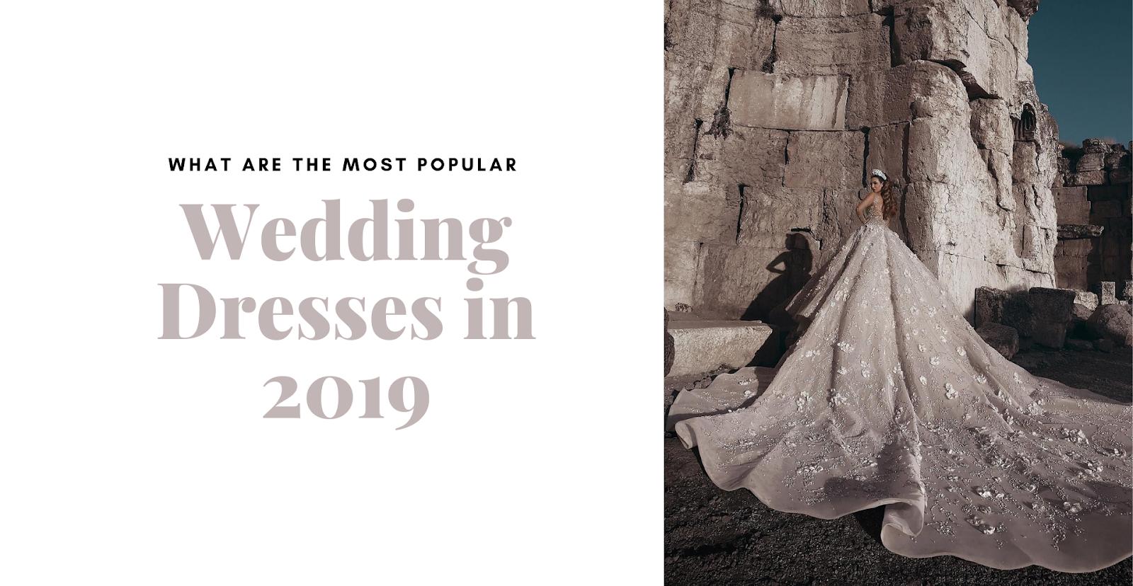 wedding dress 2019