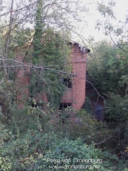 Blick auf Ruinen