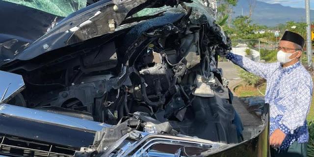 Ketum MUI Miftachul Akhyar Dikabarkan Alami Kecelakaan di Tol Salatiga