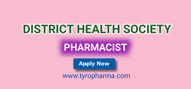 NHM Recruitment for Pharmacists in Zilla Swasthya Samiti
