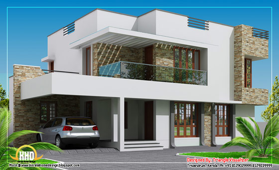 Contemporary Home Design - 214 Sq M (2304 Sq. Ft.) - February 2012