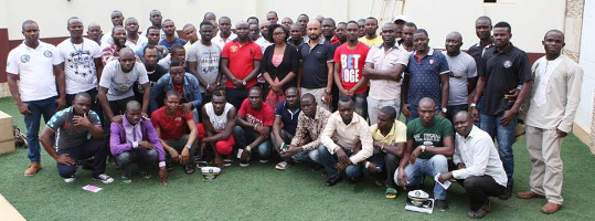 Photos: Ex-Niger Delta militants returns to Nigeria on completion of their training in St. Kitts