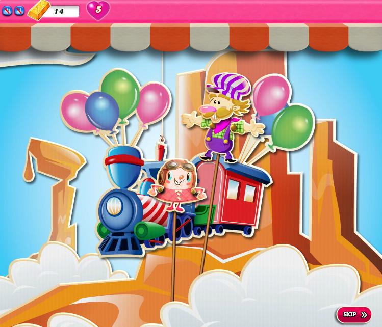 Candy Crush Saga 1701-1715