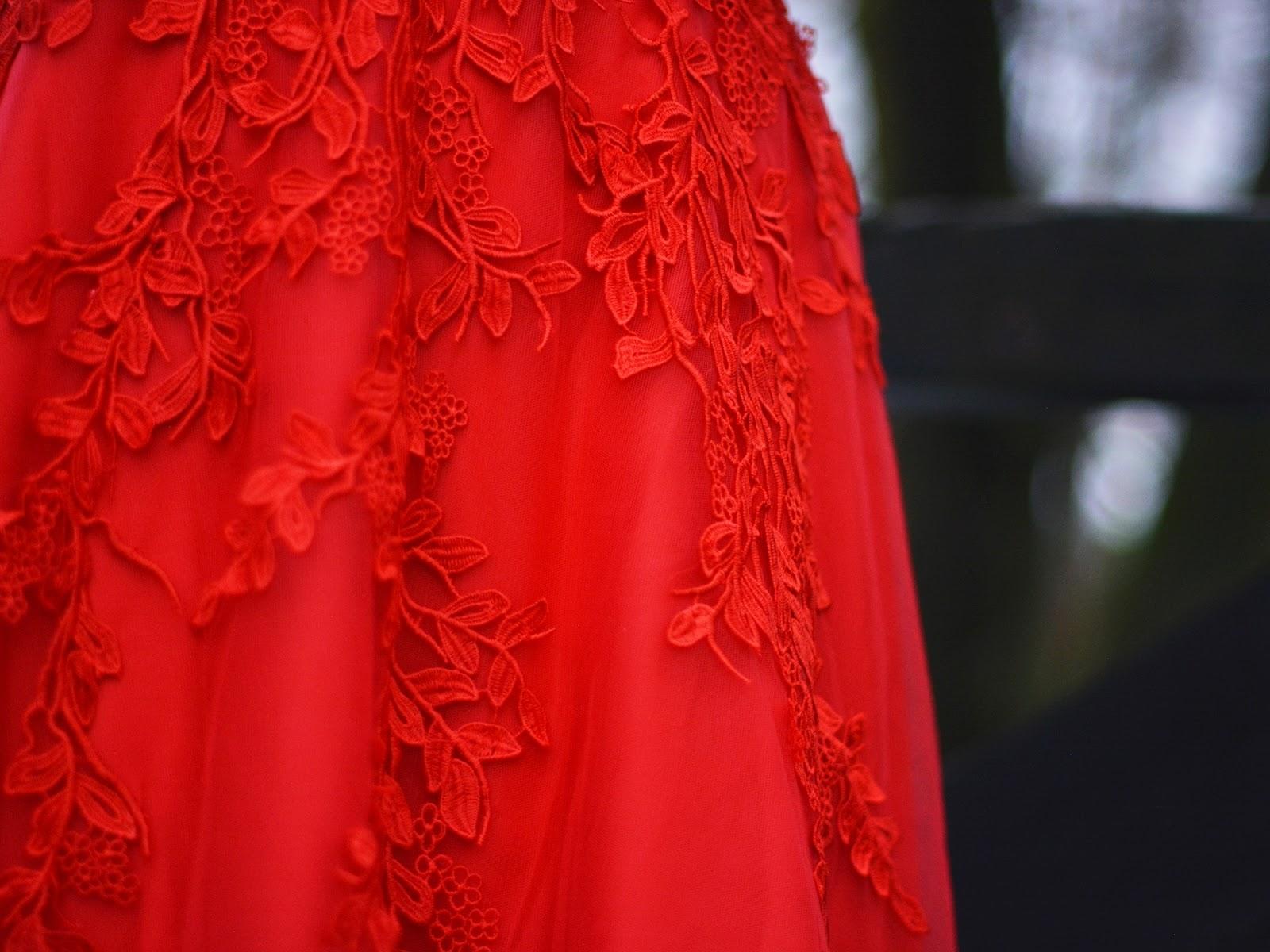 detale na sukience