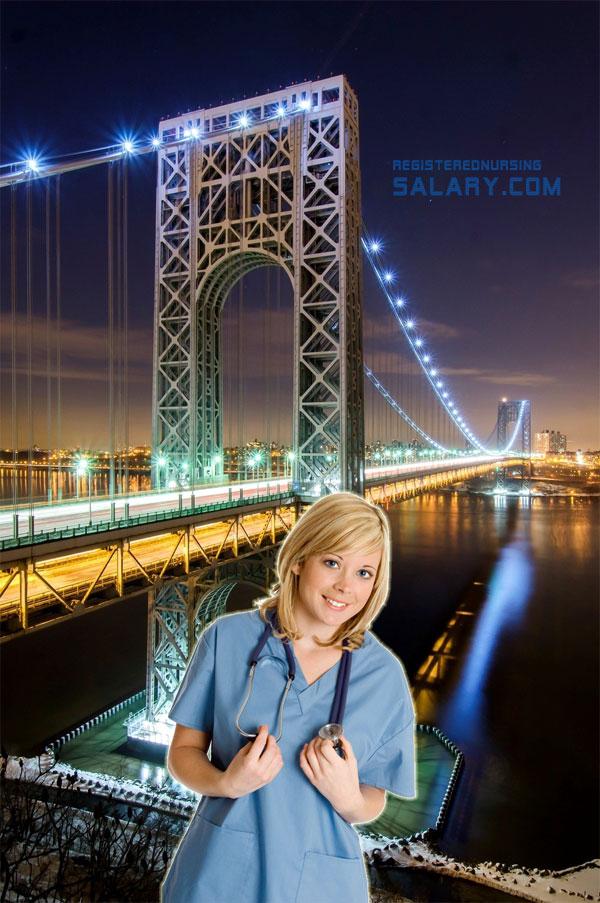 registered nurse salary in new jersey