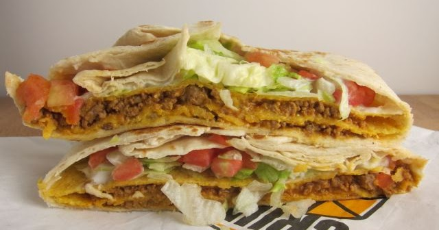 review taco bell triple double crunchwrap brand eating
