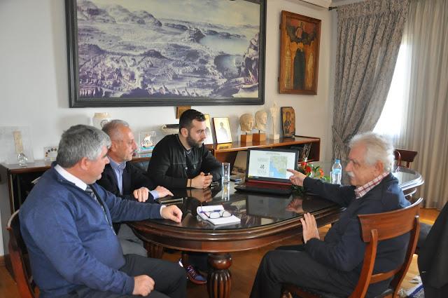 Πρέβεζα: Συνάντηση του Δημάρχου Πρέβεζας με τον πρόεδρο του Σωματείου Διάζωμα