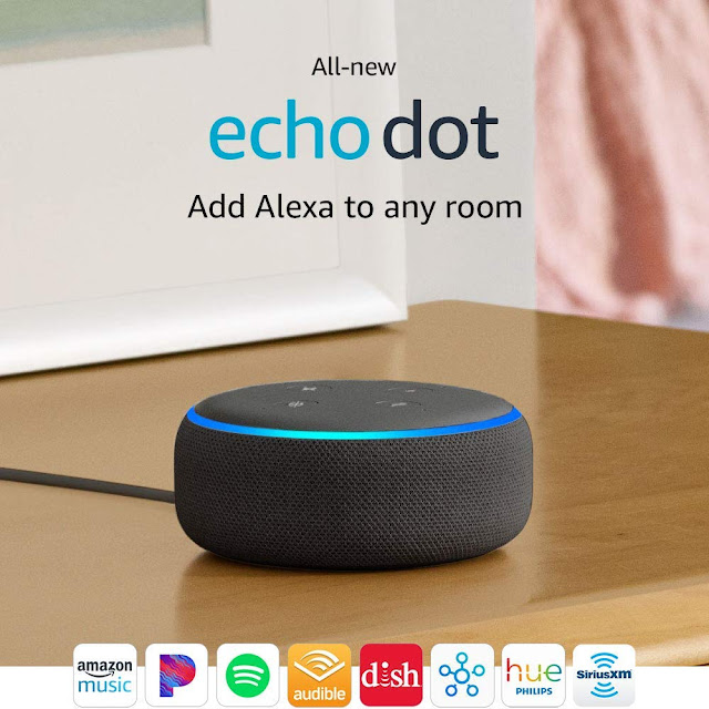 New Amazon Echo Dot 3