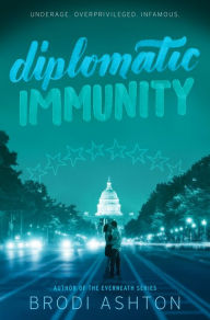 Book cover image diplomatic immunity