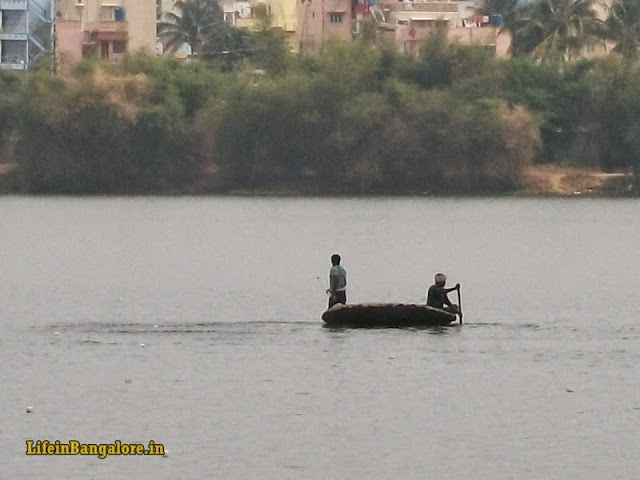Fishing in Madivala Lake
