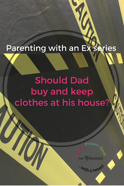 Parenting with an Ex Series: Should Dad buy clothes for the kids and keep at his house?