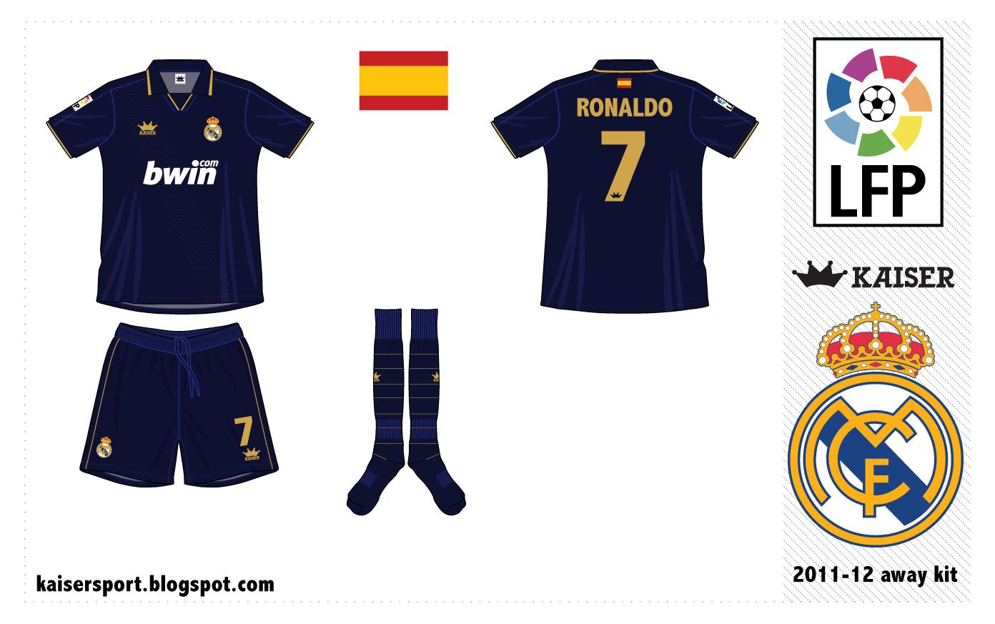 Kaiser Sport: Real Madrid Fantasy Kits