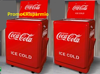 Logo Con Metro e Coca‑Cola vinci una ghiacciaia vintage