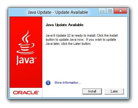 Java auto-update user inexperience | Oleg Mihailik in London
