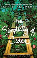The Simplicity of Cider a novel by Amy E. Reichert, chick lit, literary fiction, romance, winter reading list