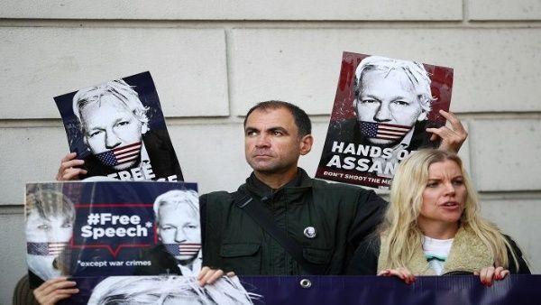 Tribunal de Reino Unido fija audiencia de extradición de Assange para febrero de 2020