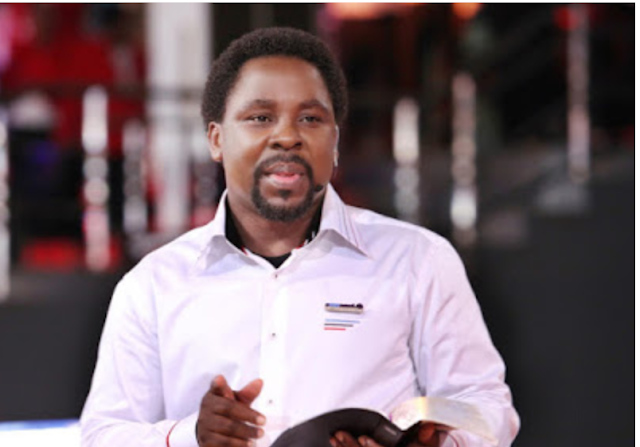 TB Joshua clears the air of prophecy about Nigeria's next president in 2023.