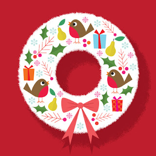 Amy Cartwright | Robins in the Wreath