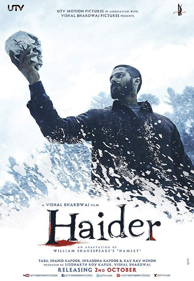 Haider Movie [Hindi-DD5.1] 720p BluRay Download