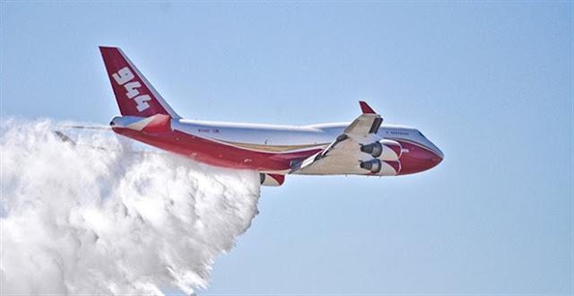 747 Supertanker: Ένας «τιτάνας» κατά των πυρκαγιών στον Αμαζόνιο (βίντεο)