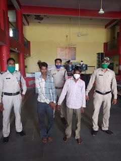 नशीले इंजेक्शन के कारोबार में लिप्त 2 आरोपी गिरफ्तार