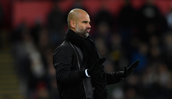Man City manager Pep Guardiola says Liverpool players dive to win games as both teams prepare to face each other at Anfield.
