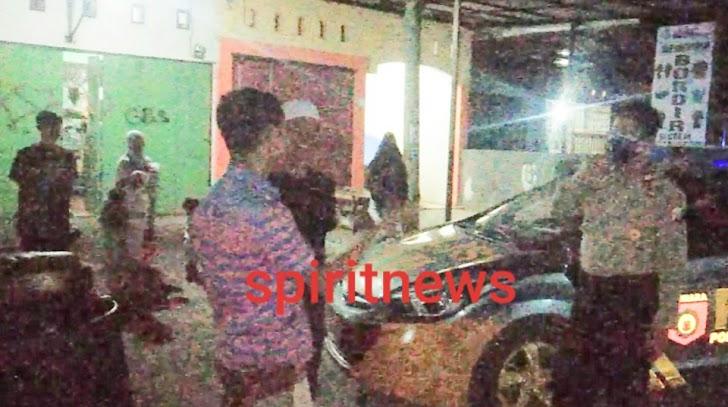 Patroli Rutin Blue light Polsek Galsel, Cegah Kriminalitas Dan Sampaikan Protokol Kesehatan Dalam AKB