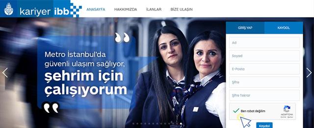 İstanbul Büyükşehir Belediyesi'ne iş ilanlarını takip etmek için  öncelikle Kariyer İBBye abone olmalısınız. Kariyer İBB abonelik nasıl yapılır? Detaylar kariyeribb.com'da