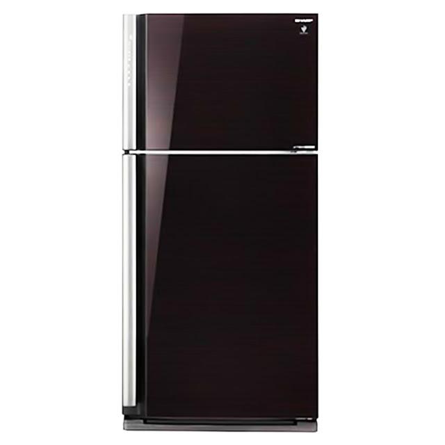 Tủ lạnh Sharp Inverter 541 lít SJ-XP590PG-BK