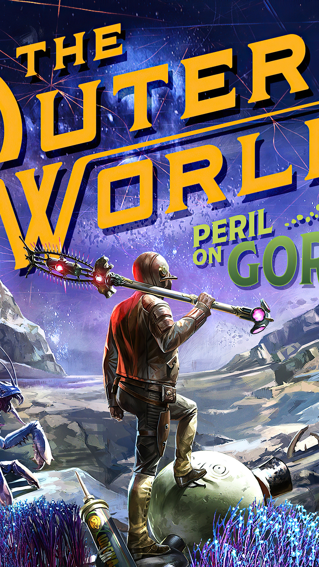 The Outer Worlds Peril On Gorgon Wallpaper