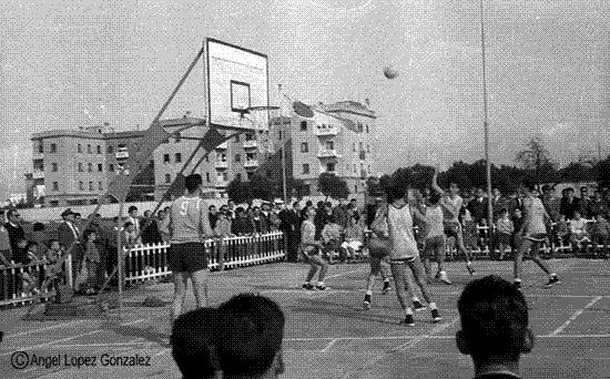 El deporte en equipo el basket