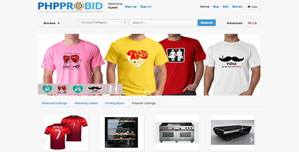 Download PHP Pro Bid v7.2 Nulled