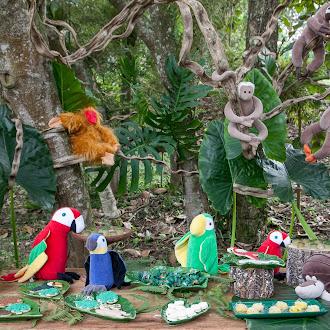 Bichinhos da Floresta Brasileira...