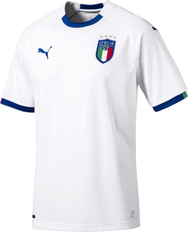 99e473bc51 Puma apresenta a camisa reserva da Itália - Show de Camisas