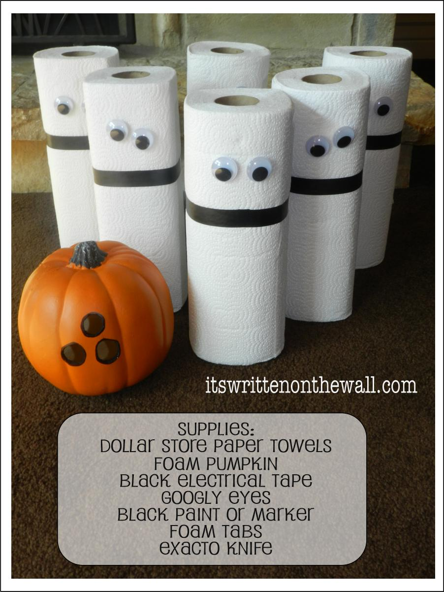 It's Written on the Wall: Boo Bowling! A Ghostly Halloween Party ...