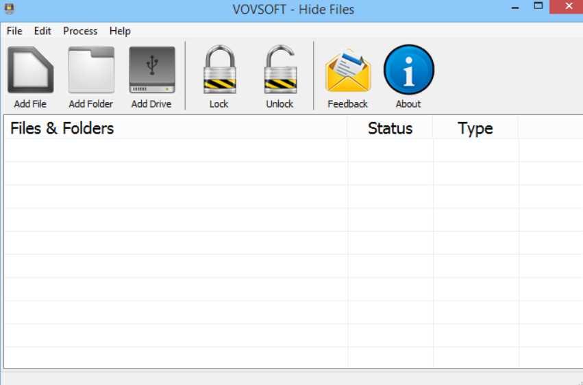 VovSoft Hide Files 5.8