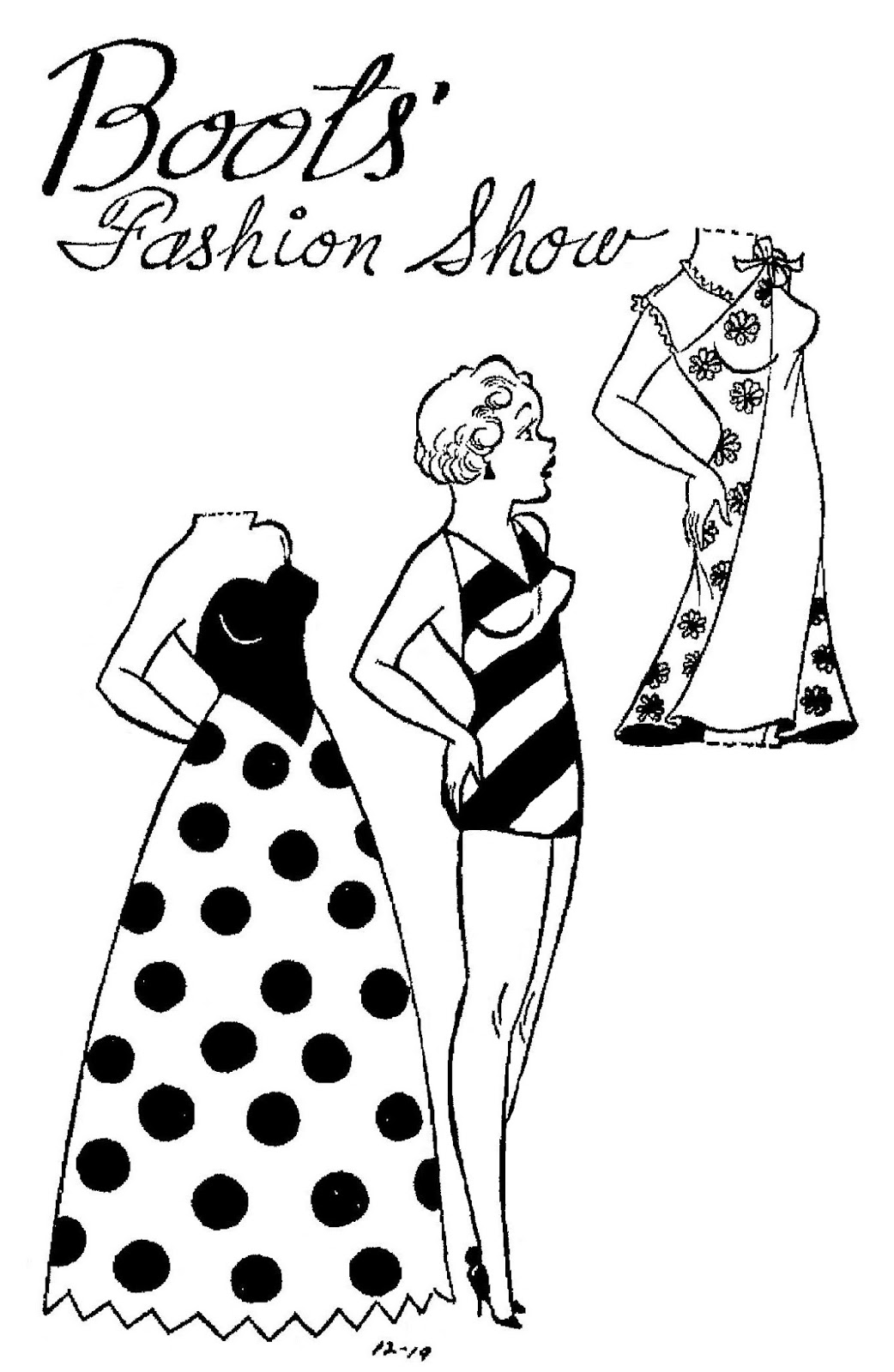Mostly Paper Dolls Too!: BOOTS Paper Dolls from December 1965