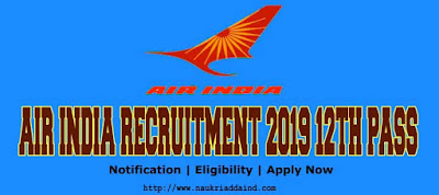 Air India Recruitment 2019 For Engineers