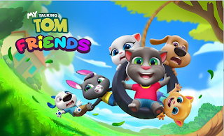 """Exiting Game on App Store and Play Store """"'My Talking Tom Friends''"""