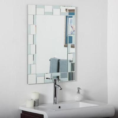 9 Rekomendasi Cermin Kamar Mandi Minimalis Terbaik